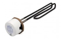 14 Inch Immersion Heater 1 3/4 inch boss Unvented